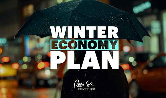 Chancellor unveils Winter Economy Plan to protect jobs and businesses